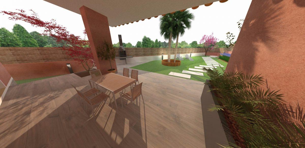 Dise o 3d jardines sabadell empresa de jardiner a rea verda for Diseno jardines 3d