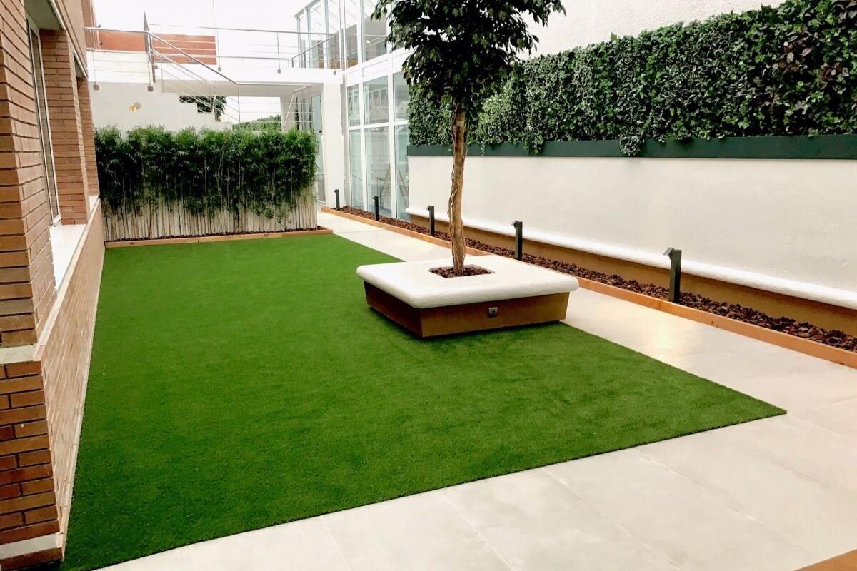 Construción integral patio interior