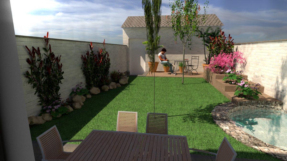 Dise o de jardines sabadell empresa de jardiner a rea verda for Jardineria sabadell