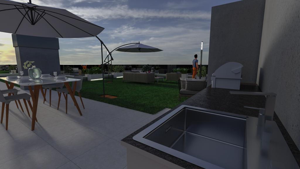 diseño de terraza