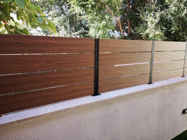 valla de madera sintetica barcelona