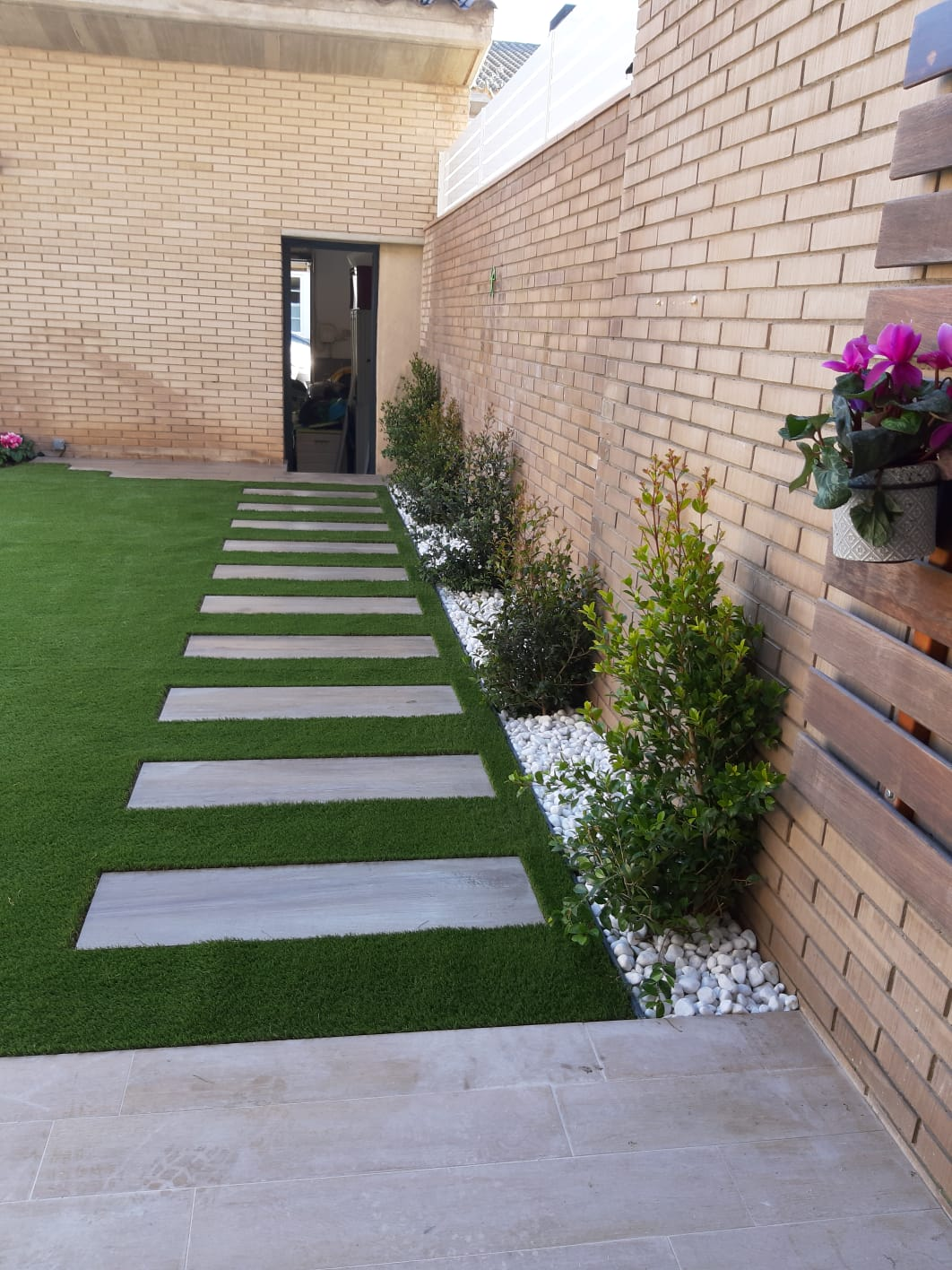 cesped artificial en terrazas