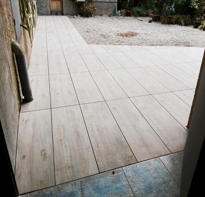 suelo exterior imitacion madera sant cugat