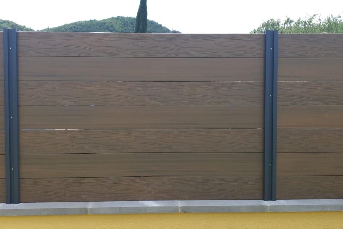 Vallas de madera sintetica tecnologica