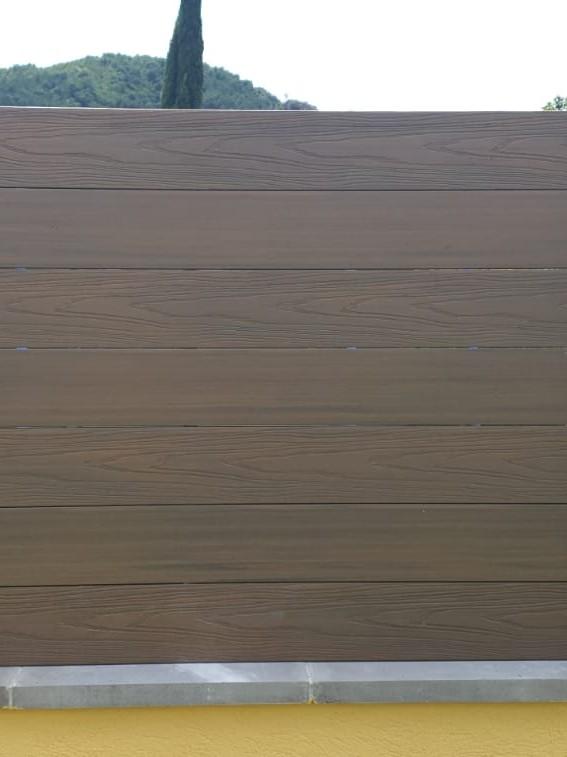 vallas de madera sintética barcelona
