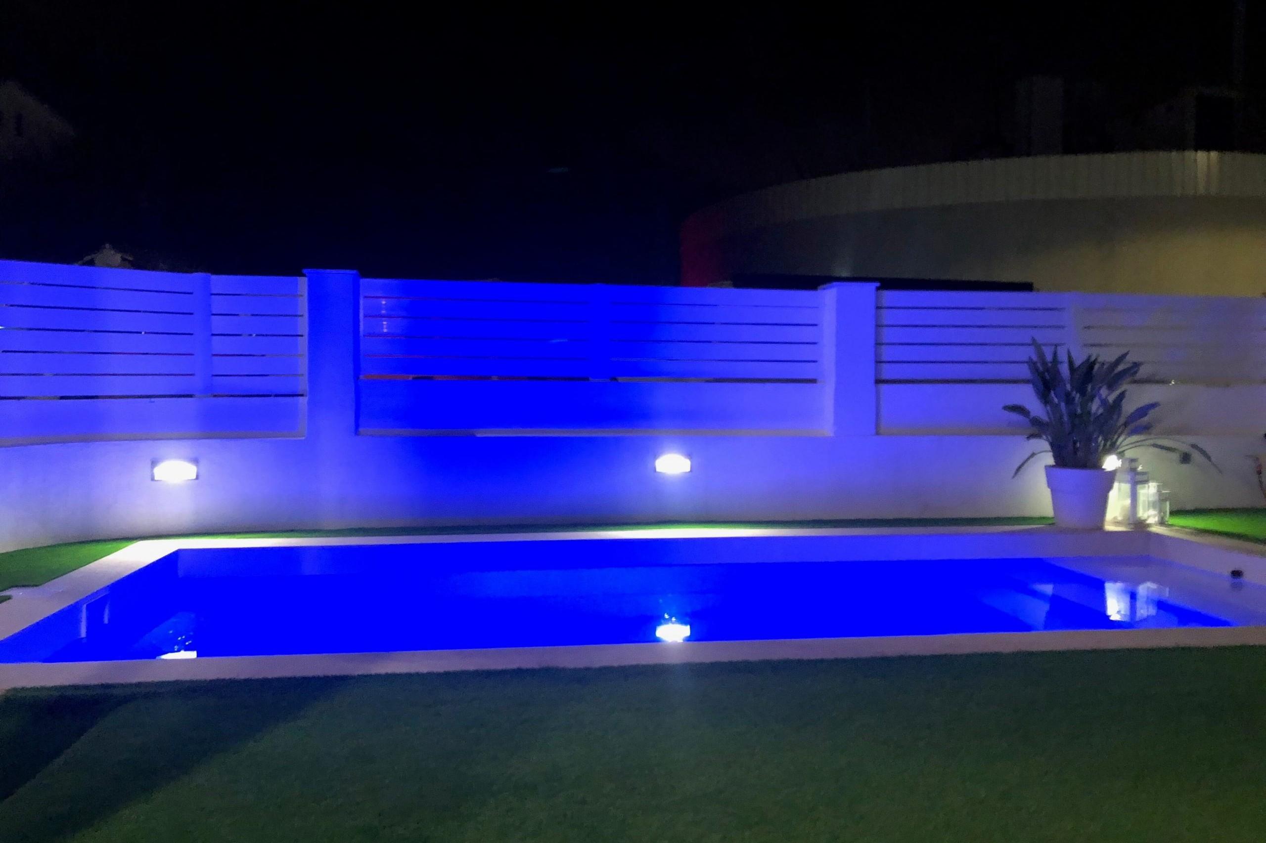 iluminación de jardines LED