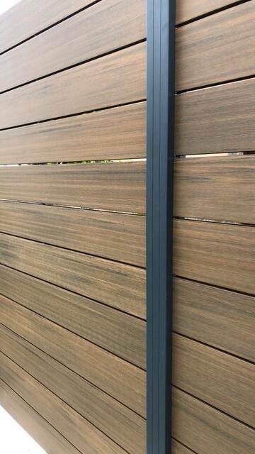 Vallas de madera sintetica barcelona