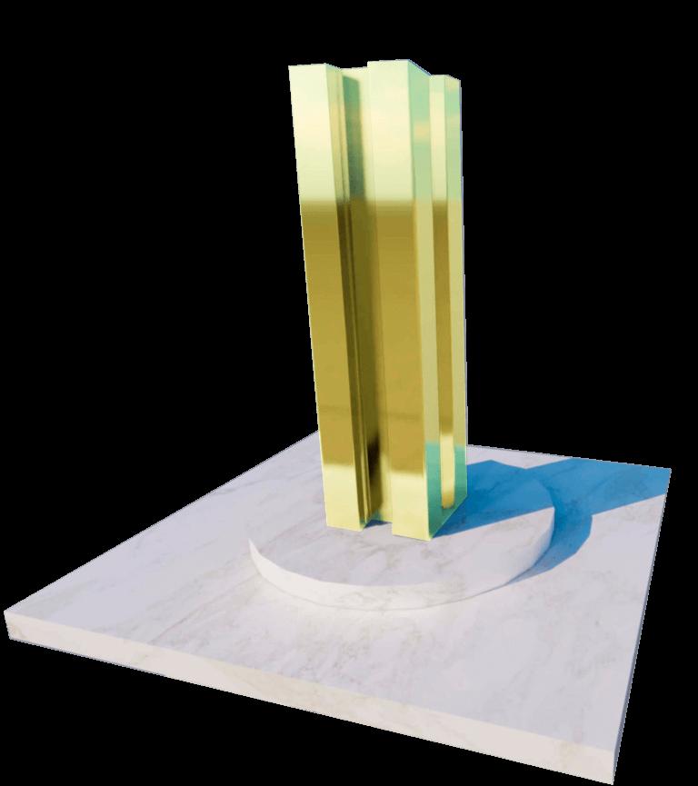 poste vallas sintéticas efecto madera